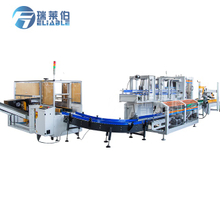 REL-ZX15 Automatic Carton Froming Feeding Sealing Packing Machine for Beverage Bottles and CANS