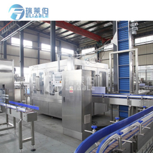 High Speed Monoblock Automatic Water Bottle Filling Capping Machine Line